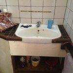 Bathroom facilities in bure.