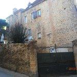 vue de la demeure côté vieux Sarlat