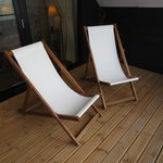 Deck chairs in the Balcony Suite