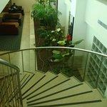 Лестница и холл