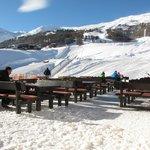 Terrazza direttamente sulle piste della ski-Area Carosello 3000