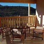 terrasse pour le petit déjeuner ou les repas