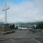Bicycling around Lake Junaluska