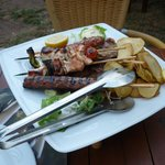 The mixed grill sharing platter for 2