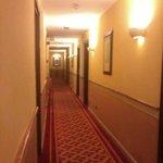 Corridoio che porta alle camere