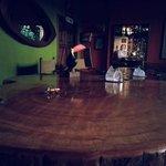 Breakfast/Evening Drinks Table
