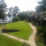 DeGray Lake Resort - view of grounds from room