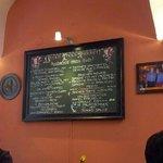 Small menu but taaaasty.