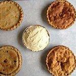 Fresh Homemade pies