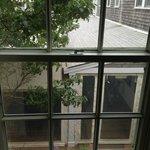 """Harbor """"view"""" suite, view from bedroom window"""