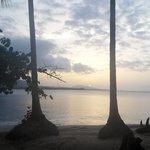 Sunset on playa Bergantine
