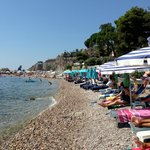 Lido beach by Isola Bella