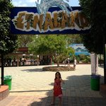 Etnaland water park entrance, yay!