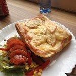 ham cheese and tomato