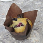 fresh baked muffins daily