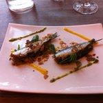 sardines grillées aux sept saveurs