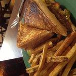 Tender roast beef sandwich
