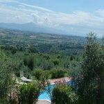 Villa in collina affitto vacanze weekend vicino Cortona
