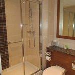 Bathroom had seperate shower and bath