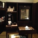 Room Mini Bar & Coffee Machine