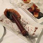 Cigar chocolate desert (not a real cigar :)