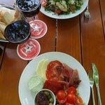 Salade et antipasti