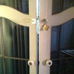 Outside Lock on Columbine Room / Curtains Too Sheer