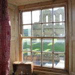 view from mouseman bedroom of Byland Abbey