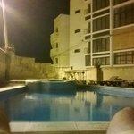 Pool area 2am :)