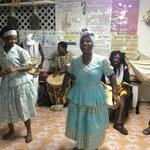 The owner and her daughter share the Garifuna culture