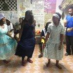 Learning a Garifuna dance