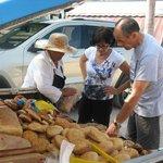 La vendeuse de pains et patisseries