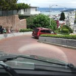 going down Lombard St.
