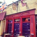 Three Lions Pub Facade