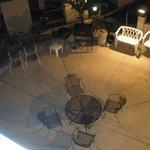 BBQ common area below my room