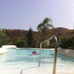 our pool at Cala Nova Sea Golf in Cala De Mijas
