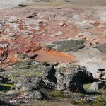 Artist Paint Pots at Yellowstone