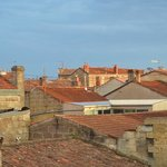 Rooftoops of Bordeaux from room window