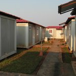 The container area