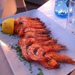 Fresh Grilled and trimmed Shrimp