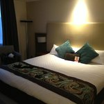 Park view room gets you a bigger bed and room