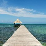 300 foot pier gets you closer to the reef and the endless horizon!