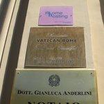 Foto de Romantic Vatican Rome B&B