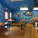 TV Dining Room #2 at Surf Bagel