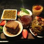 outstanding dessert platter
