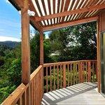 Views from verandah of ensuite rooms