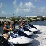 returning from a terrific time on water with Jason at Adventure Jet Skiis