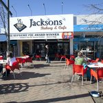 Jacksons Bakery and Cafe in the heart of the Village
