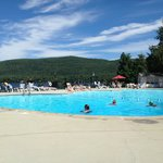 The pool - Overlooking lake george