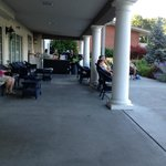 The Veranda - A great place to meet and relax. Wish I was there now.